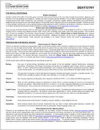 New Dental Thesis 362398 Resume Ideas