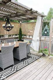 exterior diy home decor idea diy outdoor dry rods for your gazebo or porch