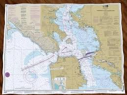 Puget Sound Nautical Chart Scandinord Co