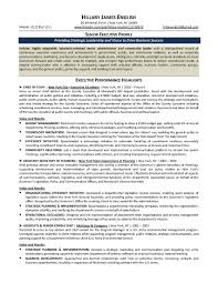 Senior Executive Resume Examples Examples Of Resumes