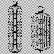 鳥籠な素材2シルエット ニコニコモンズ