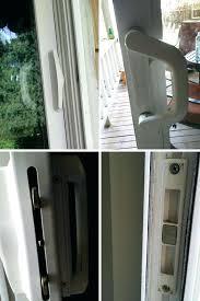 milgard sliding door add keyed lock to sliding glass door