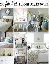 20 Fabulous Room Makeovers {Before U0026 After Room Reveals}