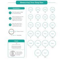 Ring Sizer Chart Colleen Berg