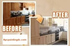 professional kitchen cabinet painting service