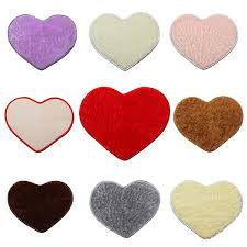 50x60cm heart shape door mat bathroom bedroom carpet sku1595981 jpg sku1595982 jpg