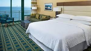 Signature One Bedroom Balcony Suite One Bedroom Deluxe Suite Sheraton Virginia Beach Oceanfront Hotel