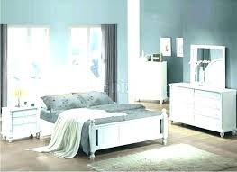 Distressed White Bed Wood Bedroom Set Gray Furniture Washed Queen ...
