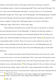 Sample Chicago Style Paper Pdf