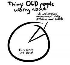 Ocd Pie Chart Things Ocd People Worry About Funny Ocd And Adult Sensory