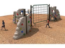 outdoor rock climbing wall for kids