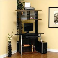 compact computer desk with hutch black corner computer desk tower small compact corner desk with hutch