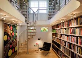 Modern home library design Furniture Architecture Art Designs 17 Functional Modern Home Library Designs For All Book Lovers