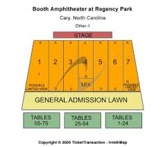Koka Booth Seating Chart Booth Amphitheatre At Regency Park Tickets And Booth
