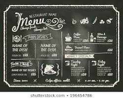 Chalkboard Menu Board Chalk Menu Board Images Stock Photos Vectors Shutterstock