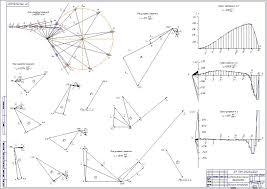 Проектирование и исследование механизма компрессора Содержание работы