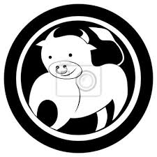 Fototapeta Znamení Býk Tetování