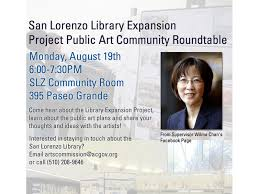 san lorenzo library expansion project public art community roundtable aug 19th at 6pm 0