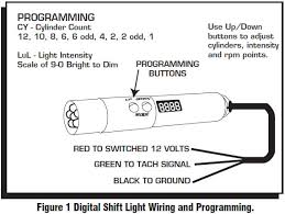 how to install an msd programmable digital shift light on your Msd Shift Light Wiring Diagram Msd Shift Light Wiring Diagram #7 MSD Digital 6AL Wiring-Diagram
