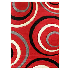 gray and red area rug luxury abstract contemporary 5 8 red black white gray area rug modern