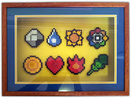 shadow box pokemon perler bead badges things to make shadow box pokemon perler bead badges