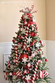 How To Decorate A Candy Cane Christmas Tree 60 Amazing Christmas Tree Ideas Christmas tree ideas Christmas 8