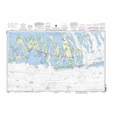 Recreational Waterproof Chart Intracoastal Waterway Bahia Honda Key To Sugarloaf Key