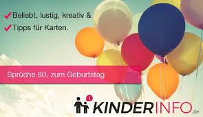 ᐅ Sprüche Zum 80 Geburtstag Beliebt Lustig Kreativ