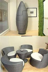 futuristic space saving furniture. These Are Actually Stackable Chairs With Tea Table This Complete Space Saver And Even Great Design To Futuristic Saving Furniture Pinterest