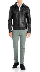 antique men s black er jacket leather jackets ron bennett bennett in est