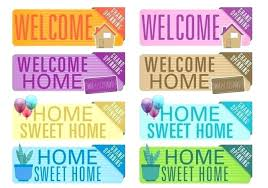 Sample Welcome Banner Vintage Sample Welcome Banner Template Back For Word Birthday