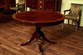 36 Round Dining Table With Leaf Bedroom Exciting Round Dining Table Leaf Mahogany Plans Oval