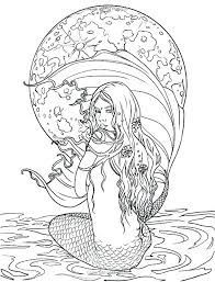 Mermaid Coloring Book For Adults 787 Related Post Dreaded Mermaid