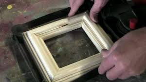 how to make a simple picture frame using a woodworking router