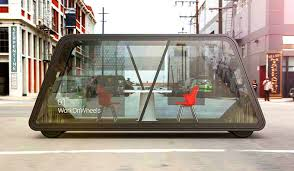 futuristic office ditches cubicles super. Futuristic Office Ditches Cubicles Super. 6 Fab Mobile Offices Let You Ditch The Cubicle For Super H