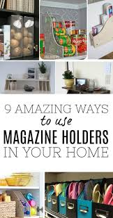 Magazine Holder Uses 100 Amazing ways to use magazine holders as storage in your home 59