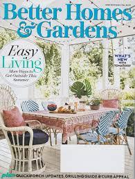 Better Homes And Gardens Backyard Design Better Homes Gardens Magazine June 2019