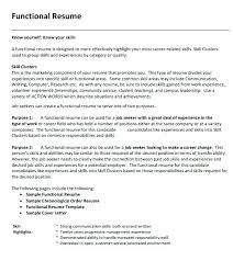 What Is A Functional Resume Functional Resume Skills For It Director