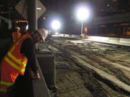 Can Light With Night Light Light Up The Night Work Zone Lighting Pavement Interactive
