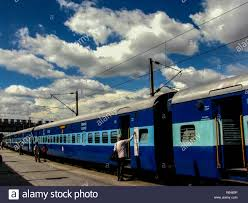 This Is An Indian Railways Train At Howrah Station With A