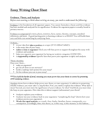 essay writing cheat sheet