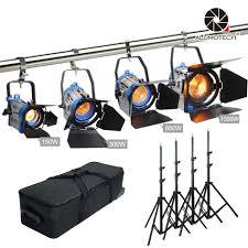 Buy Arri Light Kit As Arri Dimmer Built In 150 300 650 1000w Fresnel Tungsten Spot Lighting Studio