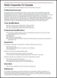 Carpenter Resume Templates Carpenter Resume Examples Lead Carpenter Carpenter Resume Examples 22