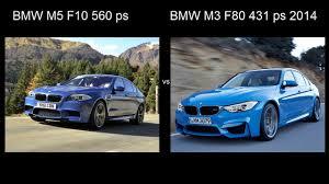 Coupe Series bmw m3 vs m5 : BMW M3 F80 2014 VS BMW M5 F10 acceleration 0-240 kmh drag разгон ...