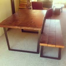 reclaimed furniture vancouver. Reclaimed Wood Dining Table With Live Edge Top By Furniture Vancouver