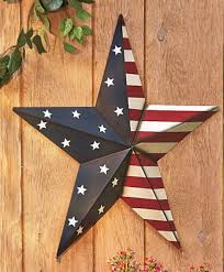 barn star decor metal stars decor