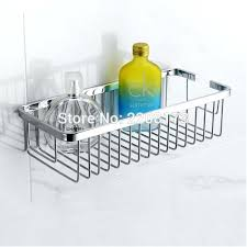quality bathroom accessories quality bathroom accessories stainless steel single wall mounted rectangular storage baskets shower quality