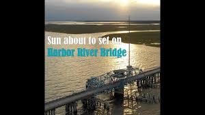 Sun To Set On Harbor Island Swing Bridge