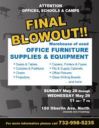 The Lakewood Scoop AD Office Furniture Supplies and Equipment