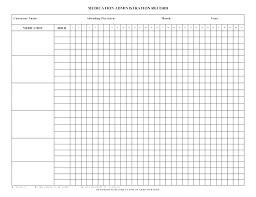 Daily Pill Chart Blank Medication Chart Donatebooks Co